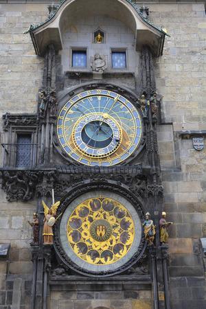 Prague, Czech Republic - astronomical clock on old town hall