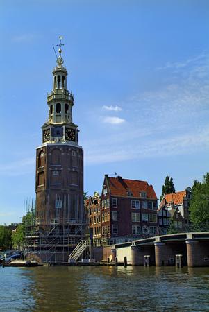 netherlands: Netherlands, Amsterdam, Montelbaanstoren