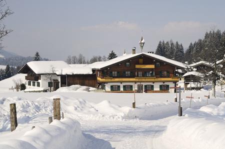 farmstead: Austria, farmstead in traditional architecture in Tyrol