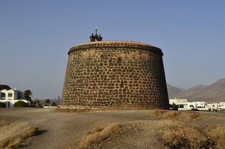 playa blanca: Castillo de Las Colorades in Playa Blanca, Lanzarote