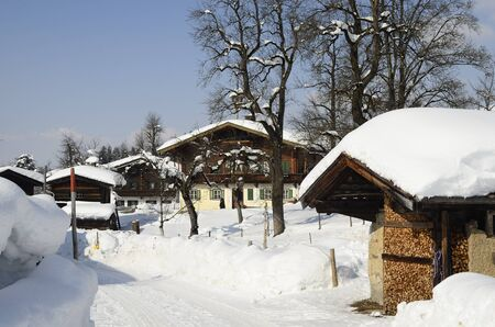 tyrol: Austria, snowy village in Tyrol