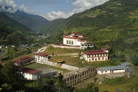 Bhutan: Rangjung monastery in Bhutan Stock Photo