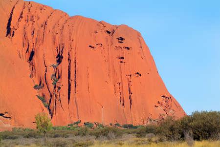 ayers: Australia, Ayers Rock - Uluru Stock Photo