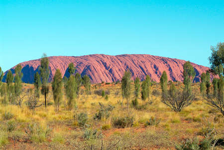 ayers: Australia, Ayers Rock - Uluru, northeast face