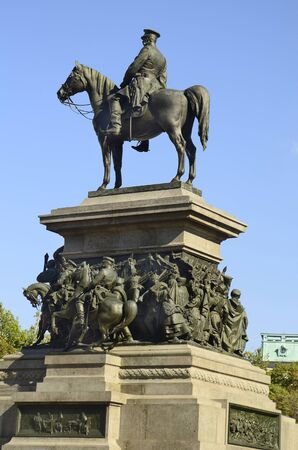 the liberator: Sofia, Bulgaria: Monument of Tsar Alexander II on square Narodno Sabranie - aka monument Tsar Liberator, erected in honour of Russian Emperor Alexander II who liberated Bulgaria of Ottoman rule in 19th century Editorial
