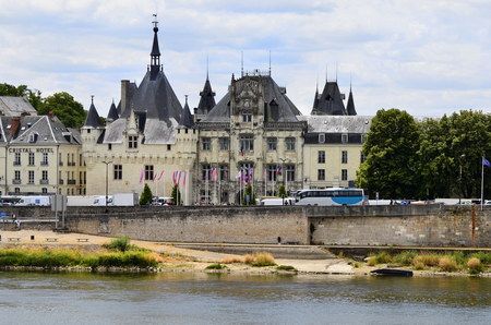 townhall: France, Loire Valley, Townhall of Saumur
