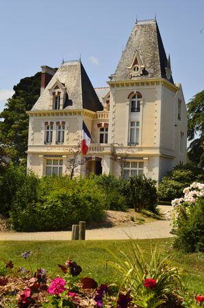 townhall: France, Brittany, townhall of Cancale