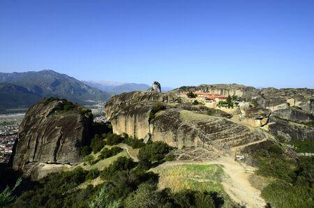 kalambaka: Greece, Meteora, monastery Holy Trinity