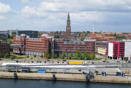 keel: Kiel, Germany, buildings and tower of the town hall, Kiel is the capital city of Schleswig-Holstein in Northern Germany