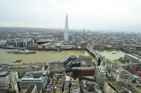 great britain: Great Britain, aerial view city of London