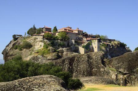 kalambaka: Greece, Meteora, Monastery of the Great Meteoron
