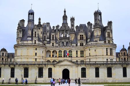 chateau: France, Chateau de Chambord in the Loire Area Editorial