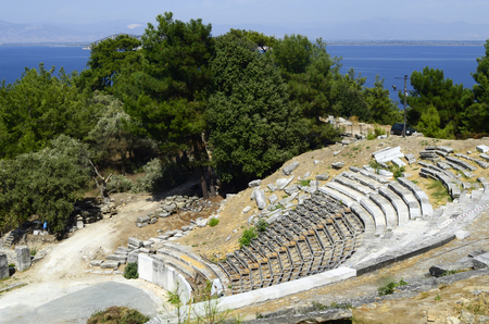 thassos: Greece, ancient theater of Thassos