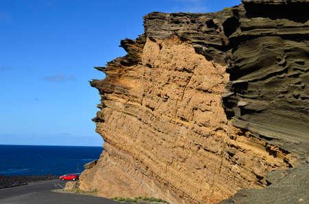 canary island: Lanzarote, Canary Island, bizarre rock formation Charco de los Clicos