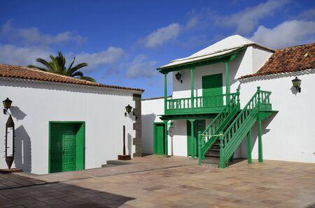 canary island: Yaiza village in Lanzarote, Canary Island, Casa de la Cultura