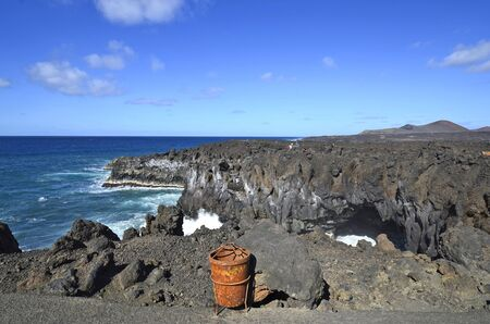 los hervideros: Lanzarote, natural spectacle and tourist attraction Los Hervideros