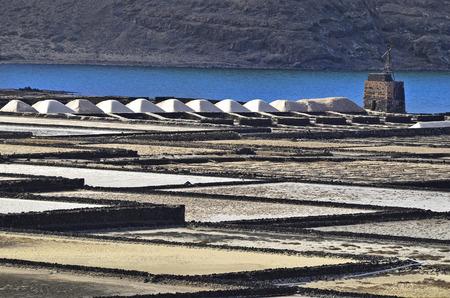 lanzarote: Salinas del Janubio, Lanzarote, Spain