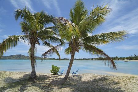Fiji, beach on Malolo Lailai island in South Sea