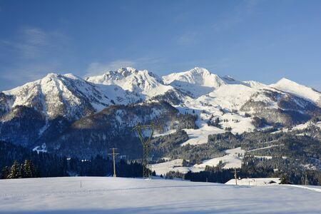 ski resort: Austria, Tyrol, ski resort Fieberbrunn Stock Photo