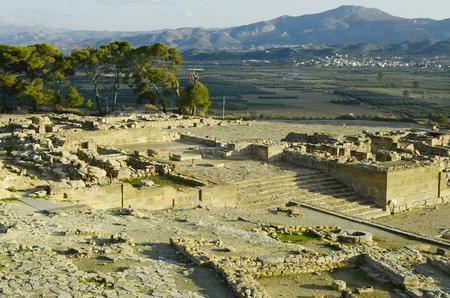 crete: Greece, Crete, historical area of Phaistos