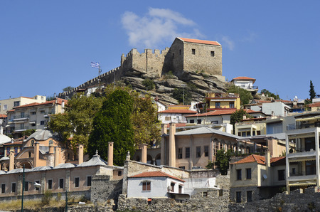 precinct: Greece, Kavala, Panagia precinct with Imaret and Fortress Editorial