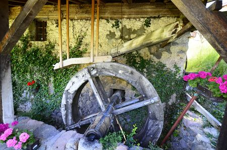 technics: Seis, Italy, Malenger mill - mentioned in a document in 16th century Stock Photo