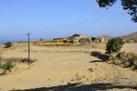 ratty: Greece, abandoned farmstead in Lemnos island