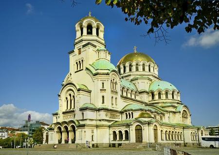 Sofia, Bulgaria - Alexander Newski cathedral - aka Hram Alexander Nevski 版權商用圖片 - 58327105