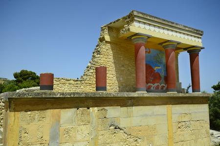 minoan: Greece, Crete, ancient Minoan palace of Knossos