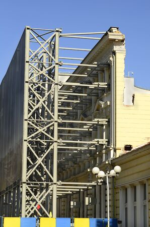 sofia: Sofia, Bulgaria - construction activity