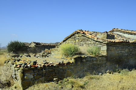 abandoned: Greece, abandoned homestead on Lemnos island