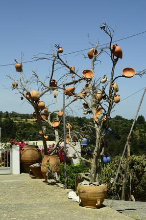 crete: Greece, Crete, ceramics Stock Photo