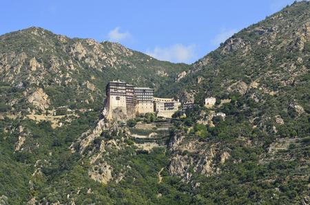 Greece, Mount Athos, Monastery Simonos Petra