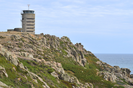 bailiwick: UK, Jersey Island, German WWII watchtower - now transmitting station