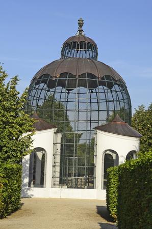 aviary: Austria, Vienna, aviary in Schoenbrunn garden Editorial