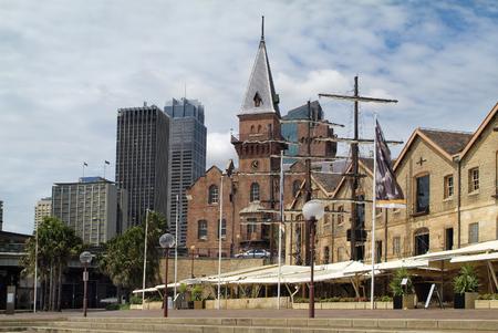 sky scraper: Australia, The Rocks in Sydney