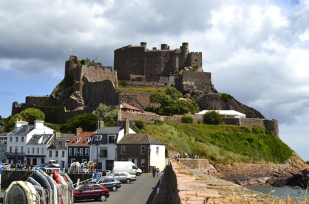 dependency: Great Britain, Jersey Island, Gorey Castle;  Mont Orgueil Castle Editorial