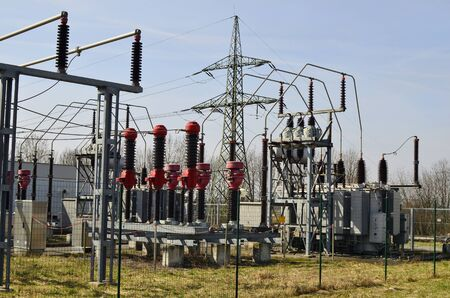 transformator: Austria, transformer station