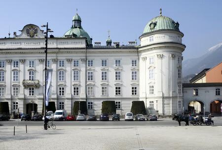 Hofburg building in Innsbruck, Tyrol, Austria