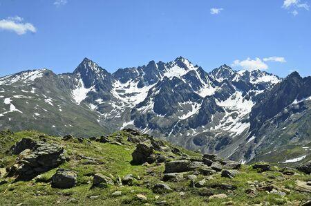 tirol: Austria, Tirol, snow on Austrian alps