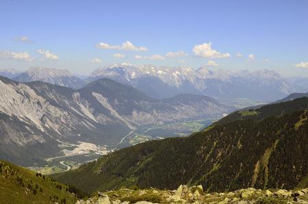 inn: Austria, Tirol, Inn valley with Austrian alps