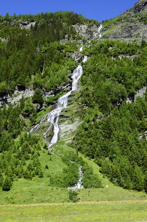 tirol: Austria, Tirol, Alpbach waterfall