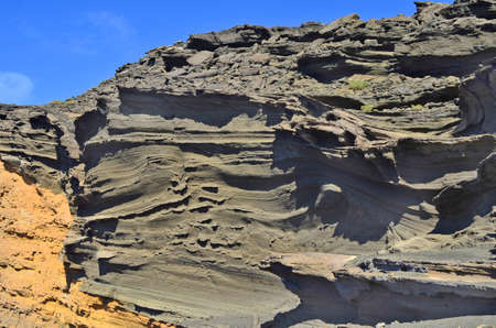 rock formation: Lanzarote, Canary Island, bizarre rock formation Charco de los Clicos