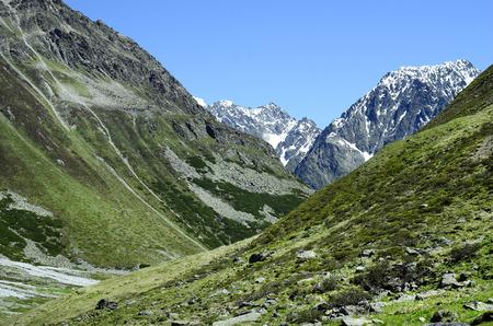 austrian: Austria, Tirol, Austrian Alps in Pitztal valley Stock Photo