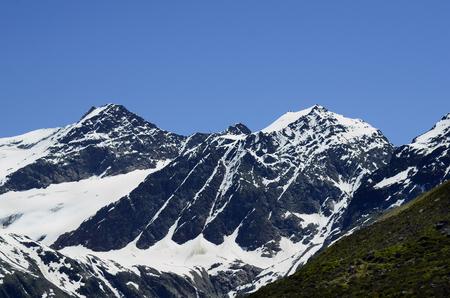 tirol: Austria, Tirol, Austrian alps with Pitztaler glacier
