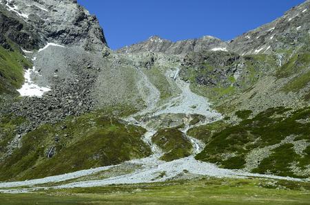 Austria, Tirol, landscape in Austrian alps