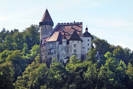 upper austria: Castle Klam in Upper Austria