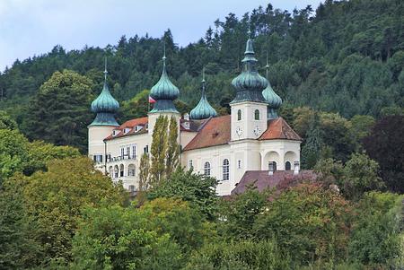 franz: Artstetten, Austria - September 17th 2010: Castle Artstetten in Lower Austria, former estate of Habsburg monarchy, includes the museum of Archduke Franz Ferdinand