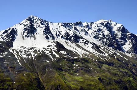 tyrol: Austria, Tyrol, snow remains on the Pitztal glacier