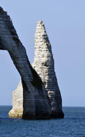 rock formation: France, Normandy, rock formation in Etretat